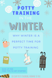5 helpful reasons to potty train in the winter