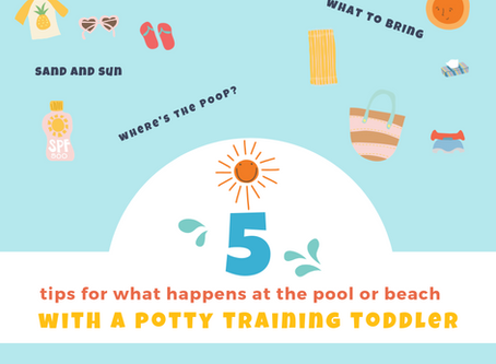 What Happens at the Pool or Beach with your Diaper-Free Toddler?