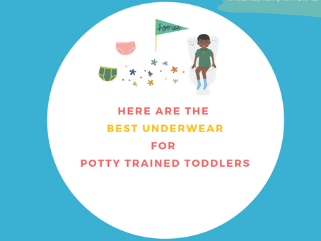 Here are the Best Underwear for Newly Potty Trained Toddlers
