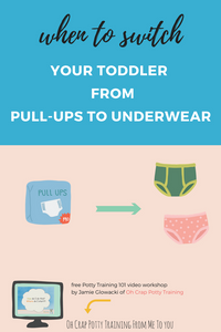 The best way to switch from pull-ups to toddler underwear