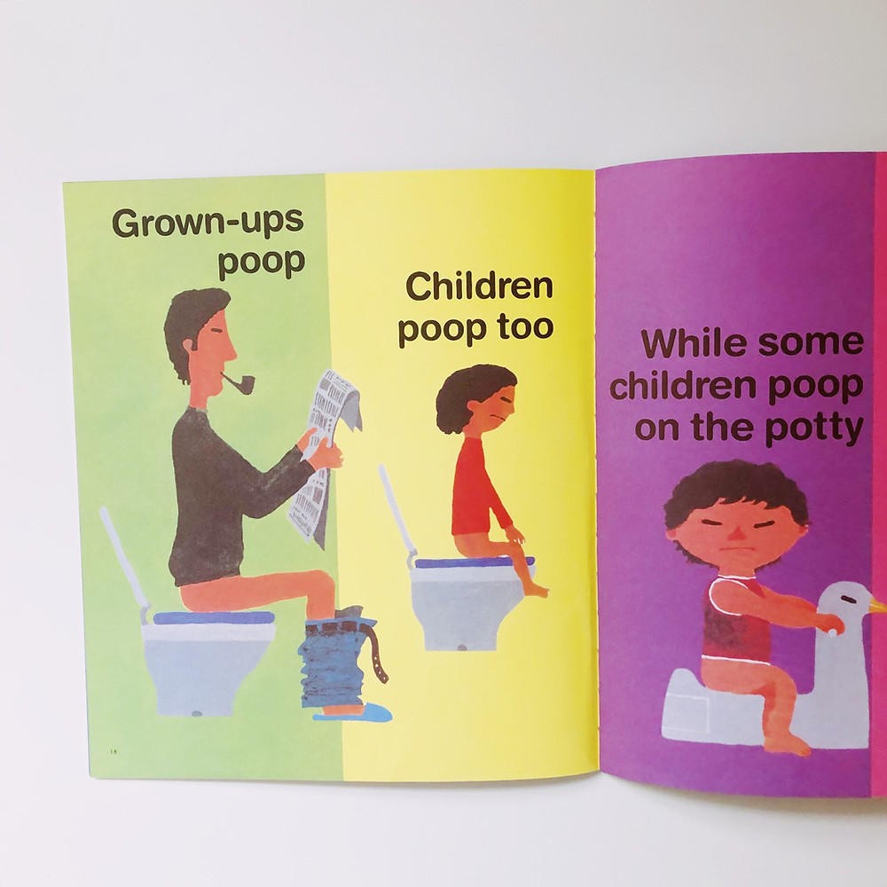 Everyone Poops potty book