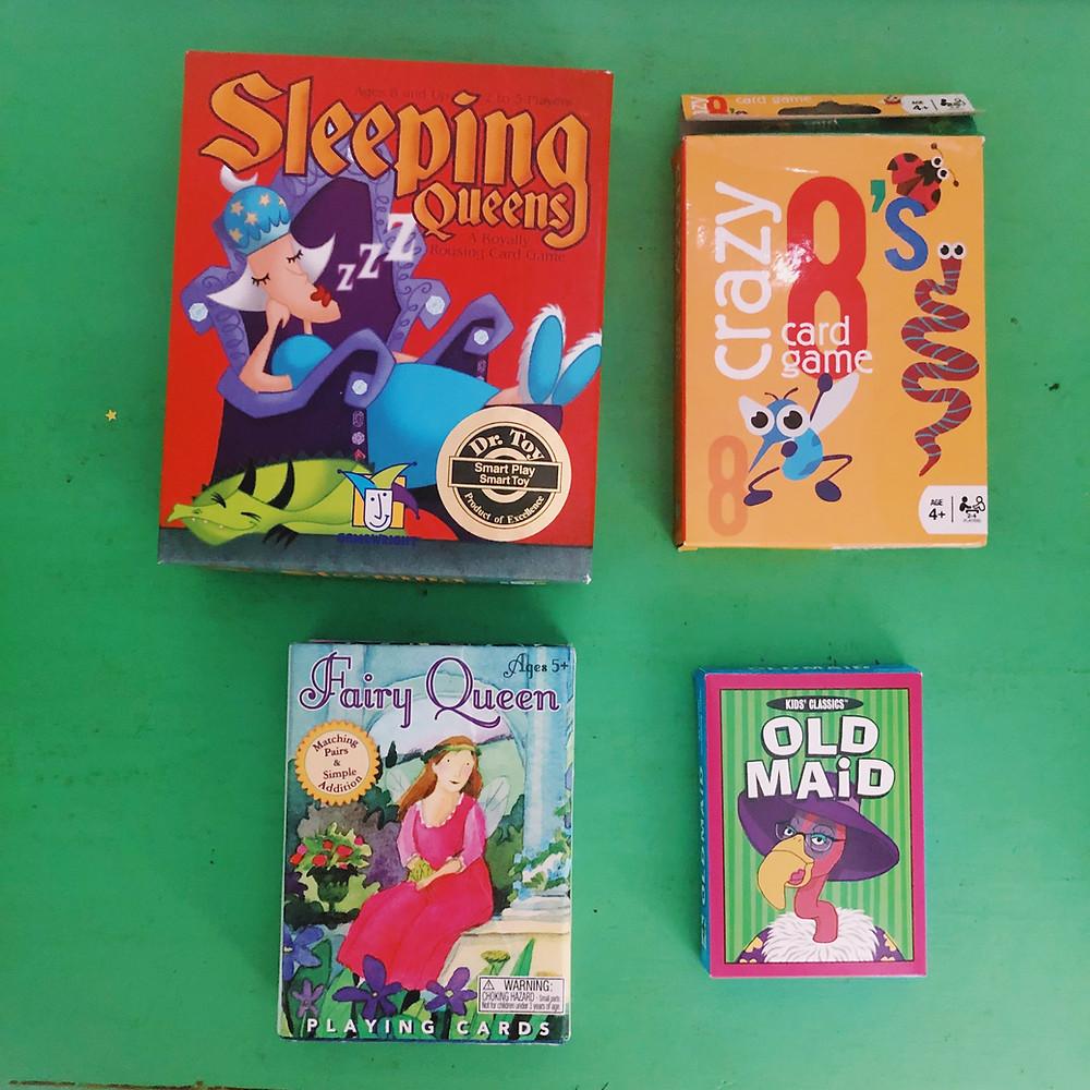 card games preschool school age kids
