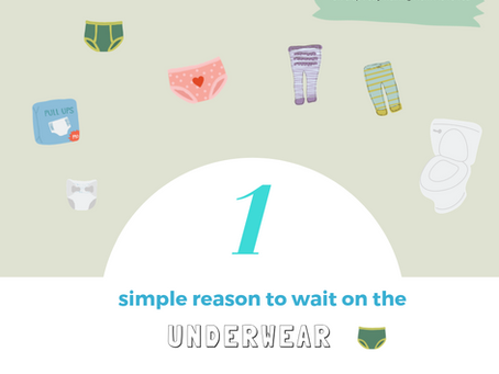 1 Simple Reason to Wait on the Underwear