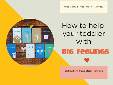 How to Help Your Potty Training Toddler With Big Feelings