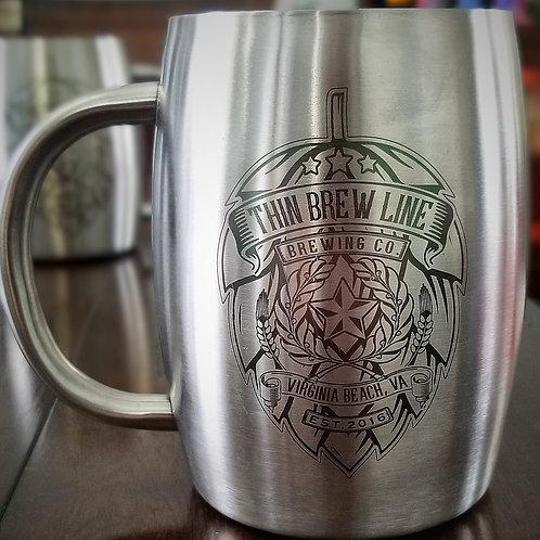 Thin Brew Line Stainless Steel Mug