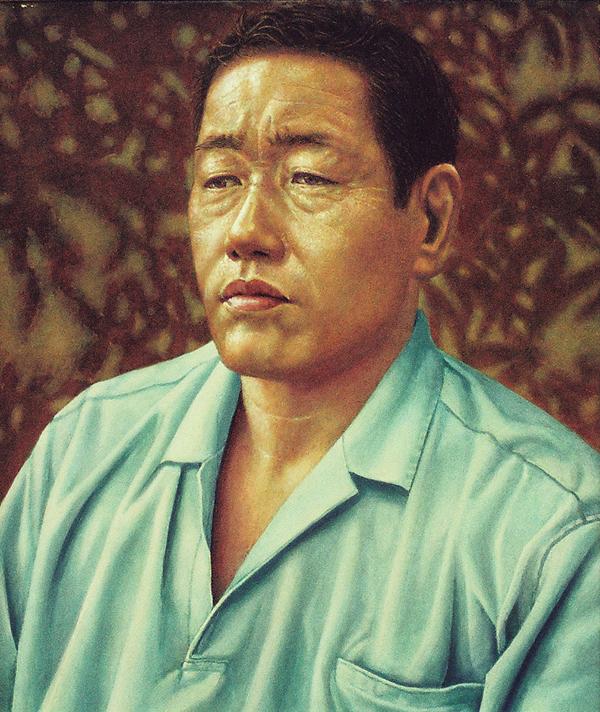 高橋氏の肖像