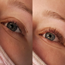 Lash Lift Before & After