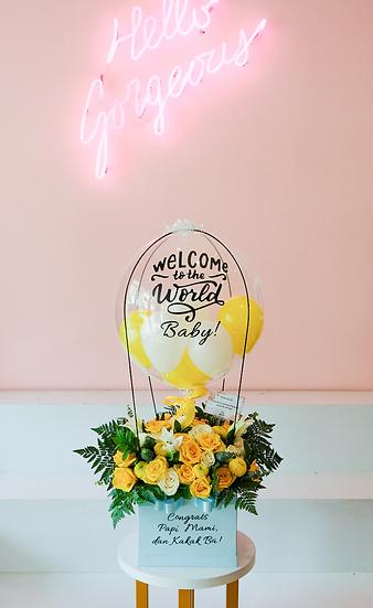 Jumbo Flower Box with Fresh Flowers