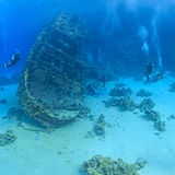 Wreck in the Sea