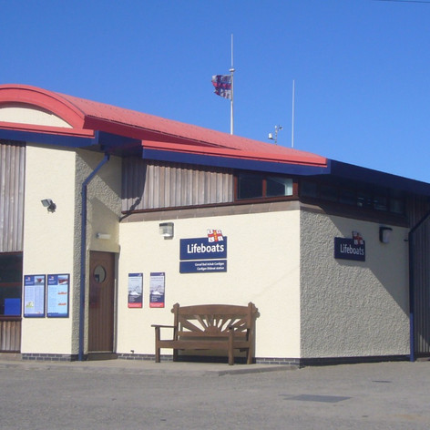 LIFEBOAT STATION, CARDIGAN