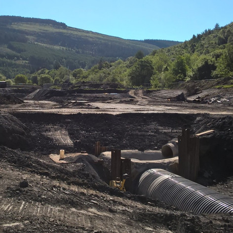 CULVERT DIVERSION, CWMAMAN