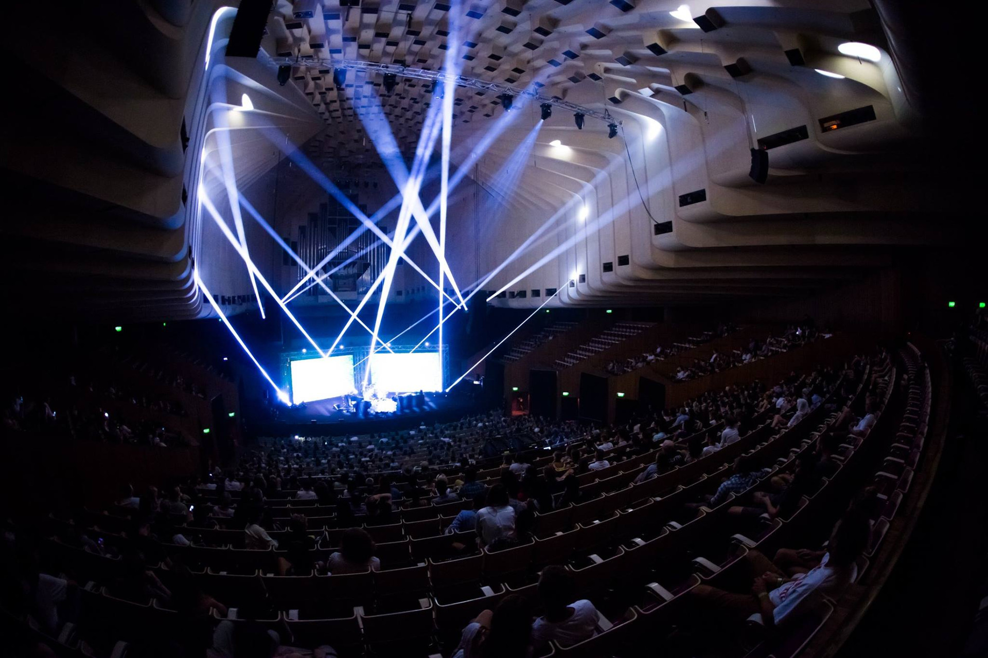 Sound and Vision at the Sydney Opera House
