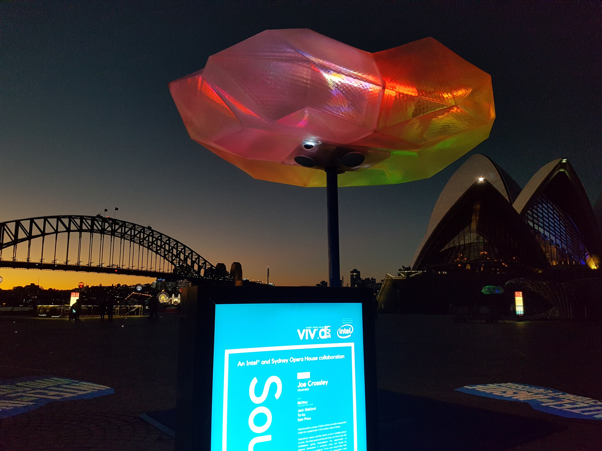 Sound Cells, Sydney Opera House
