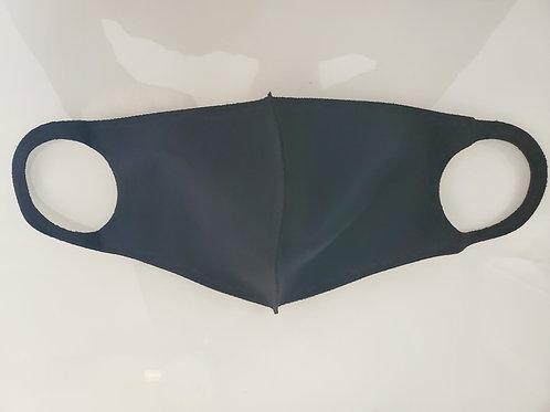 KB4325   Plain Black mask  ON SALE