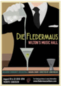 fledermaus martini poster with details f
