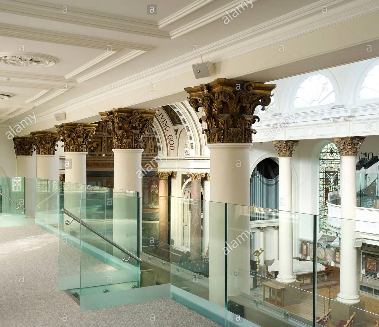 Balcony Hallway