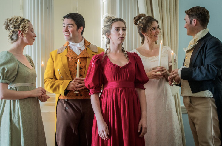 Mary Crawford in Mansfield Park at Waterperry Opera Festival