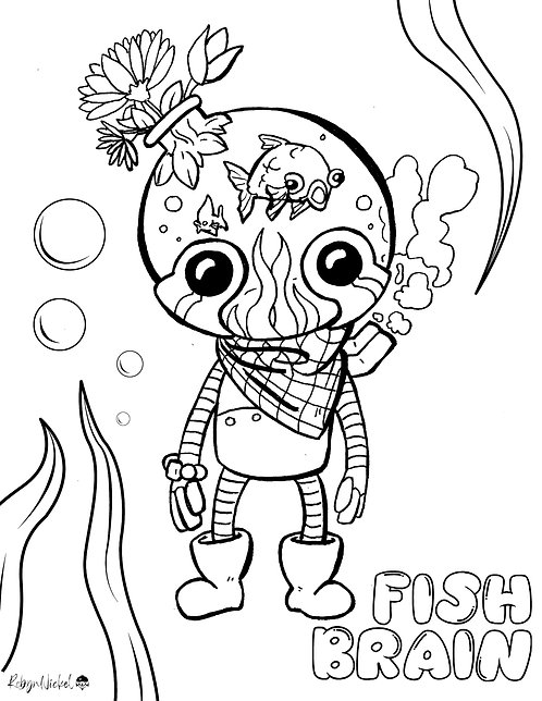 Fishbrain Robot