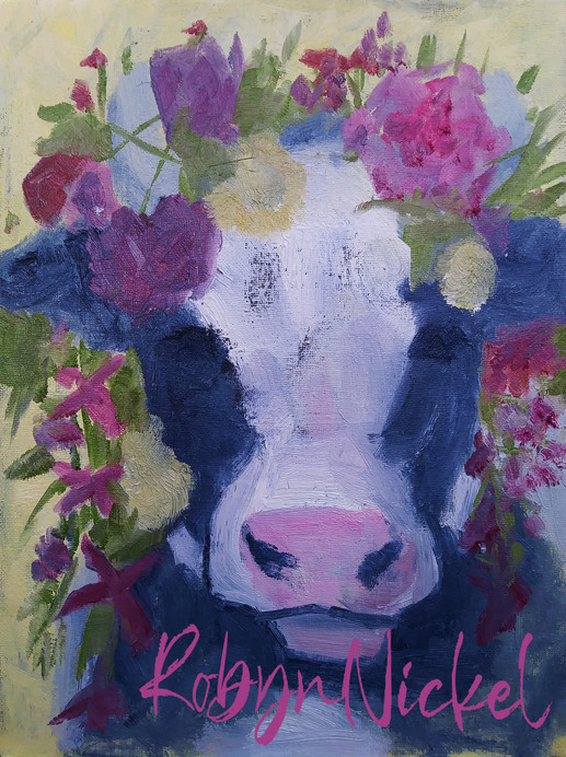 Cow Color Study