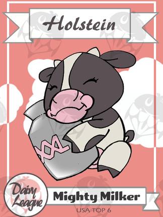 Holstein Trading Card