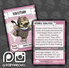 Yakutian Trading Card