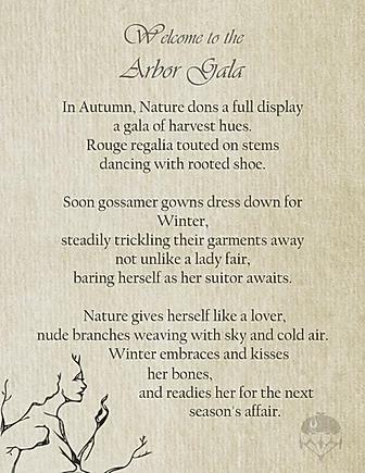 Arbor Gala Poem