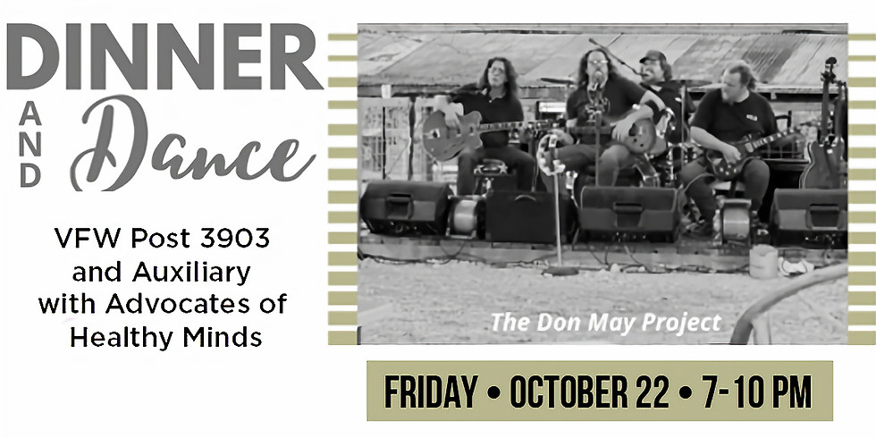 Dinner & Dance with The Don May Project