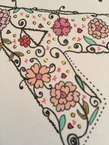 Letter doodles