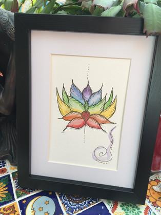 Charkra Lotus Flower