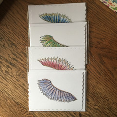 Angel Wing Cards