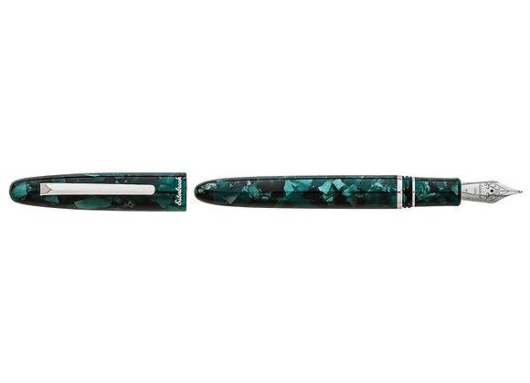 Esterbrook Estie Evergreen Fountain Pen w/Palladium Trim, Medium Nib