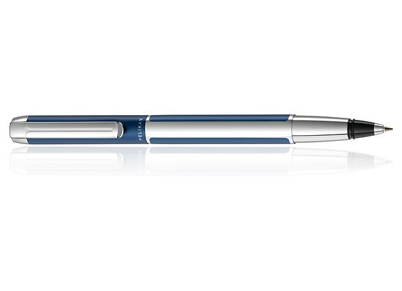 Pelikan Pura, Blue/Silver Rollerball Pen