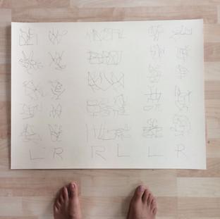 podiatric writing