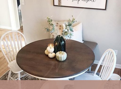 Our Affordable Dining Room diy