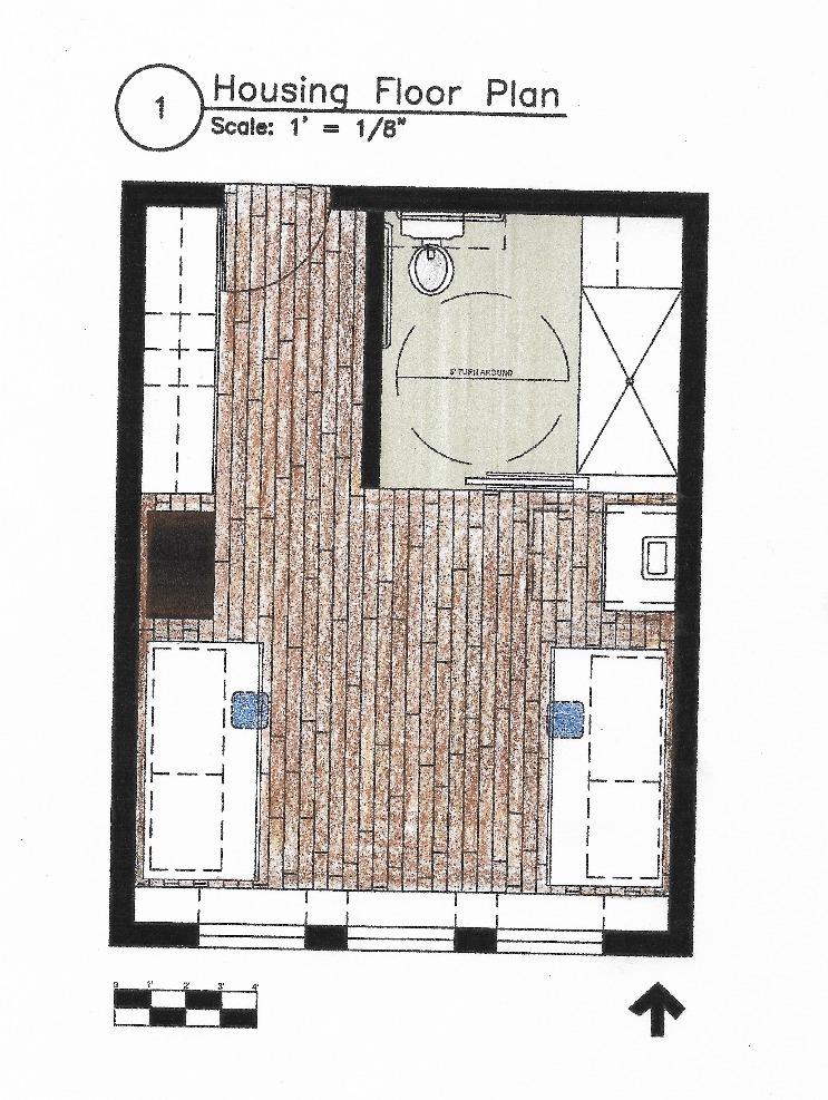 Student Housing Floor Plan