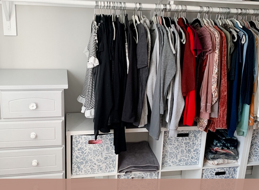 Get Organized with Grey - Closet