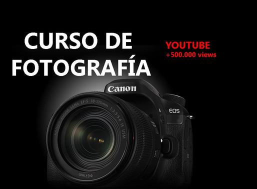Curso Fotografía: Aprende a utilizar una cámara reflex en 20 minutos