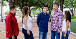 Downtown Sarasota Family Photoshoot