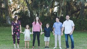 Family Portraits at Tom Bennett Park | Bradenton, FL