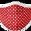 Thumbnail: Red Polka Mask