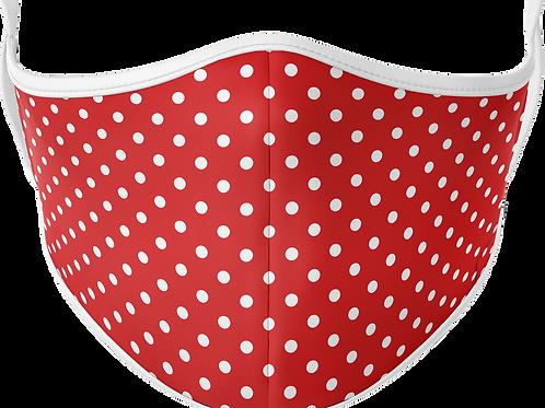 Red Polka Mask