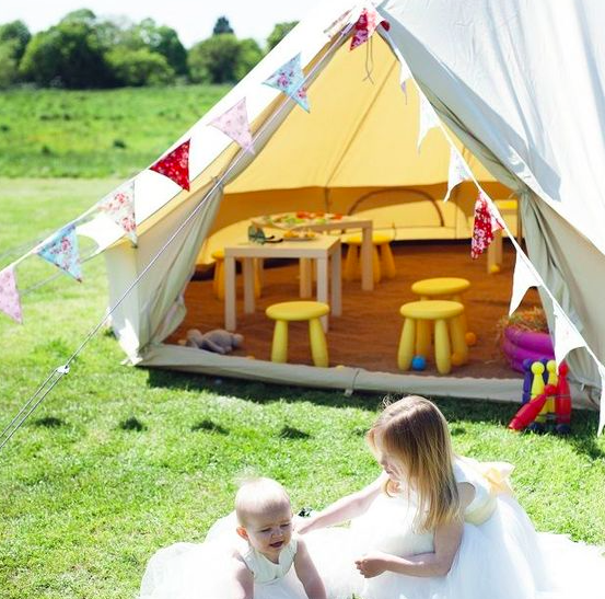 KIDS PARTY TENT
