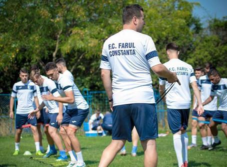 """""""Meciul bucuriei"""", între staff-ul clubului FC Farul și copiii amendați"""