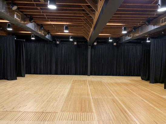 East Van Black Box Theatre with Tap Floor