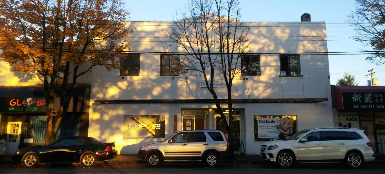 Dance Co East Van Building