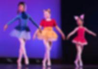 Dance Co's Ballet dancers onstage at recital