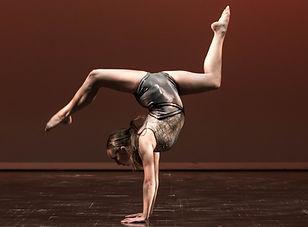 Alexa acrobatics solo handstand dance