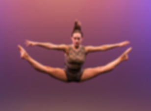 Alexa russian split jump dance
