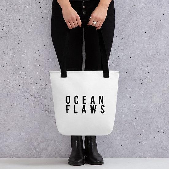 Ocean Flaws Tote Bag