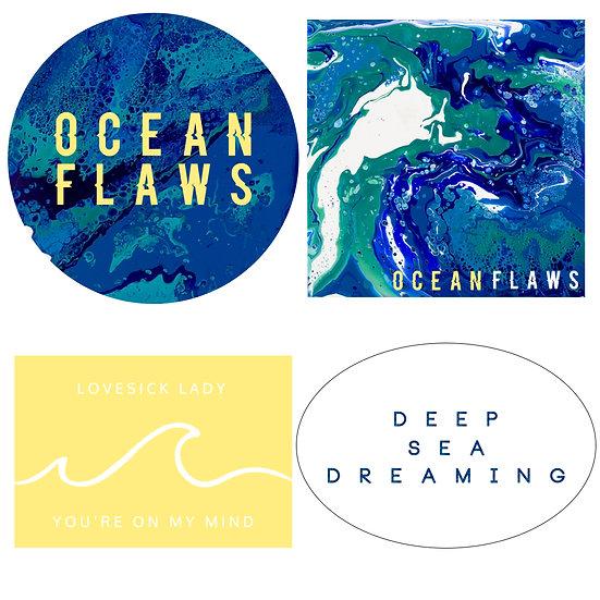 Deep Sea Dreaming Sticker Bundle